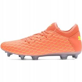 Buty piłkarskie Puma Future 5.4 Osg Fg Ag 105941 01 pomarańczowe pomarańczowe 2