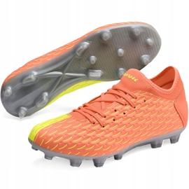 Buty piłkarskie Puma Future 5.4 Osg Fg Ag 105941 01 pomarańczowe pomarańczowe 3