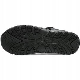Sandały męskie 4F głęboka czerń H4L20 SAM003 20S czarne 2