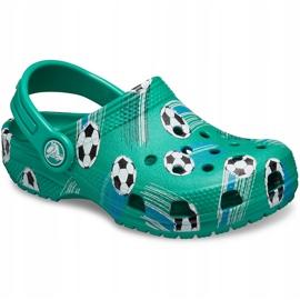 Crocs dla dzieci Classic Sport Ball Clog Ps zielone 206417 3TJ 3
