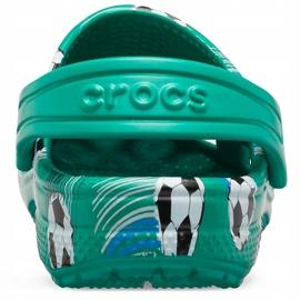 Crocs dla dzieci Classic Sport Ball Clog Ps zielone 206417 3TJ 4