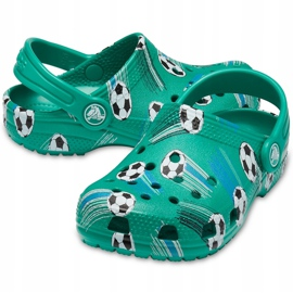 Crocs dla dzieci Classic Sport Ball Clog Ps zielone 206417 3TJ 2