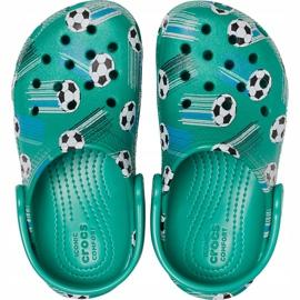 Crocs dla dzieci Classic Sport Ball Clog Ps zielone 206417 3TJ 1