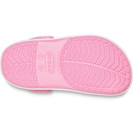 Crocs dla dzieci Crocband Rainbow Glitter Clg K różowe 206151 669 5