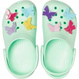 Crocs dla dzieci Classic Butterfly Charm Clg Ps zielone 206179 3TI 1