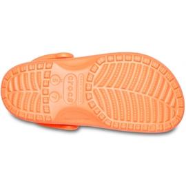 Crocs dla dzieci Classic Vacay Vibes Clog pomarańczowe 206375 801 5