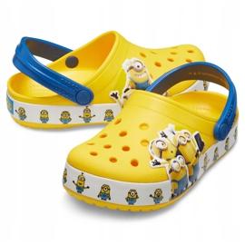 Crocs dla dzieci Fl Minions Multi Clg Kids żółte 205512 730 2