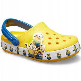Crocs dla dzieci Fl Minions Multi Clg Kids żółte 205512 730 3
