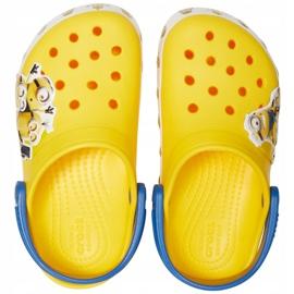 Crocs dla dzieci Fl Minions Multi Clg Kids żółte 205512 730 1