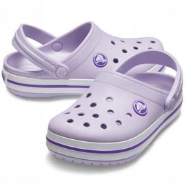 Crocs dla dzieci Crocband Clog K fioletowe 204537 5P8 2