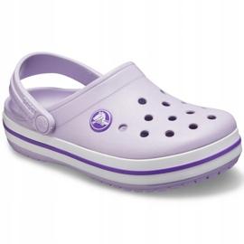 Crocs dla dzieci Crocband Clog K fioletowe 204537 5P8 3