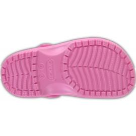 Crocs dla dzieci Crocband Classic Clog K Kids różowe 204536 6I2 5