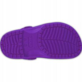 Crocs dla dzieci Crocband Classic Clog K Kids fioletowe 204536 57H 5