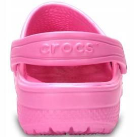 Crocs dla dzieci Crocband Classic Clog K Kids różowe 204536 6I2 4