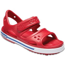 Crocs sandały dla dzieci Crocband Ii Sandal Ps Kids czerwono-niebieskie 14854 6OE czerwone 3
