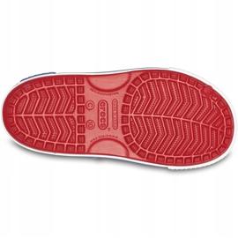 Crocs sandały dla dzieci Crocband Ii Sandal Ps Kids czerwono-niebieskie 14854 6OE czerwone 5