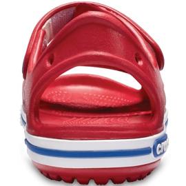 Crocs sandały dla dzieci Crocband Ii Sandal Ps Kids czerwono-niebieskie 14854 6OE czerwone 4