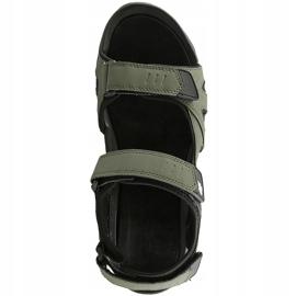 Sandały męskie 4F khaki H4L20 SAM002 43S zielone 1