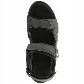 Sandały męskie 4F głęboka czerń H4L20 SAM002 20S czarne 1