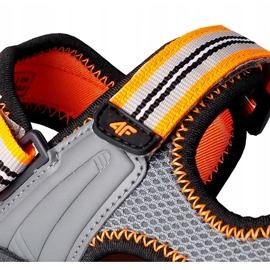 Sandały dla chłopca 4F multikolor HJL20 JSAM003 90S szare 4