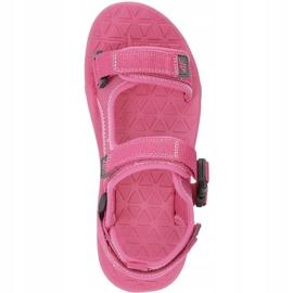 Sandały dla dziewczynki 4F fuksja HJL20 JSAD002 55S różowe 1
