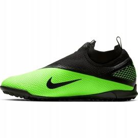 Buty piłkarskie Nike React Phantom Vsn 2 Pro Df Tf CD4174 036 zielone wielokolorowe 2