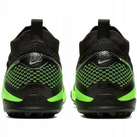 Buty piłkarskie Nike React Phantom Vsn 2 Pro Df Tf CD4174 036 zielone wielokolorowe 4