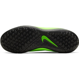 Buty piłkarskie Nike Phantom Vsn 2 Academy Df Tf Junior CD4078 306 zielone wielokolorowe 7