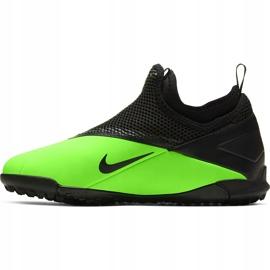 Buty piłkarskie Nike Phantom Vsn 2 Academy Df Tf Junior CD4078 306 zielone wielokolorowe 2