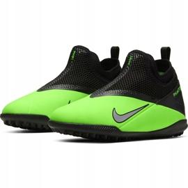 Buty piłkarskie Nike Phantom Vsn 2 Academy Df Tf Junior CD4078 306 zielone wielokolorowe 3
