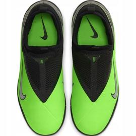 Buty piłkarskie Nike Phantom Vsn 2 Academy Df Tf Junior CD4078 306 zielone wielokolorowe 1
