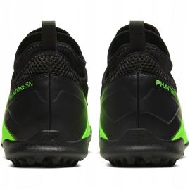 Buty piłkarskie Nike Phantom Vsn 2 Academy Df Tf Junior CD4078 306 zielone wielokolorowe 4