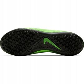 Buty piłkarskie Nike React Phantom Vsn 2 Pro Df Tf CD4174 036 zielone wielokolorowe 7