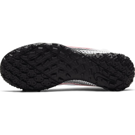 Buty piłkarskie Nike Mercurial Superfly 7 Academy Tf Jr AT8143 160 białe wielokolorowe 7