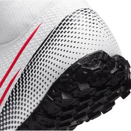 Buty piłkarskie Nike Mercurial Superfly 7 Academy Tf Jr AT8143 160 białe wielokolorowe 5