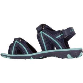 Sandały dla dzieci Kappa Breezy Ii K Footwear Kids granatowo-miętowe 260679K 6737 granatowe 2