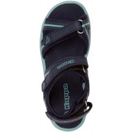 Sandały dla dzieci Kappa Breezy Ii K Footwear Kids granatowo-miętowe 260679K 6737 granatowe 1