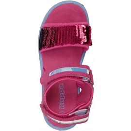 Sandały dla dzieci Kappa Seaqueen K Footwear Kids różowo-niebieskie 260767K 2260 różowe 1