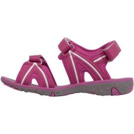 Sandały dla dzieci Kappa Breezy Ii K Footwear Kids różowo-białe 260679K 2210 różowe 2