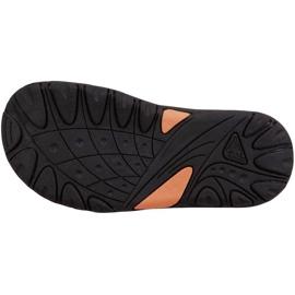 Sandały dla dzieci Kappa Symi K Footwear Kids czarno-pomarańczowe 260685K 1144 czarne 3