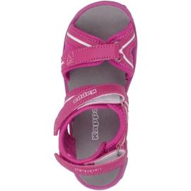 Sandały dla dzieci Kappa Breezy Ii K Footwear Kids różowo-białe 260679K 2210 różowe 1