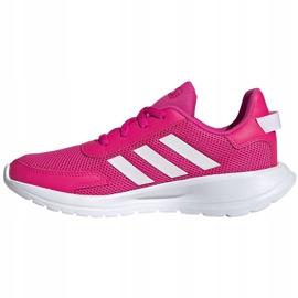 Buty dla dzieci adidas Tensaur Run K różowo-białe EG4126 różowe 2