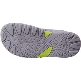 Sandały dla dzieci Kappa Early Ii K Footwear Kids szaro-limonkowe 260373K 1633 szare 3