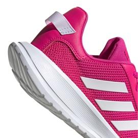 Buty dla dzieci adidas Tensaur Run K różowo-białe EG4126 różowe 5