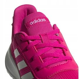 Buty dla dzieci adidas Tensaur Run K różowo-białe EG4126 różowe 4