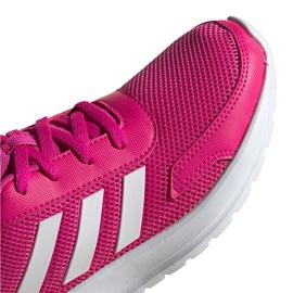 Buty dla dzieci adidas Tensaur Run K różowo-białe EG4126 różowe 3