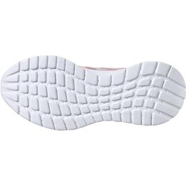 Buty dla dzieci adidas Tensaur Run K szaro-różowe EG4132 6
