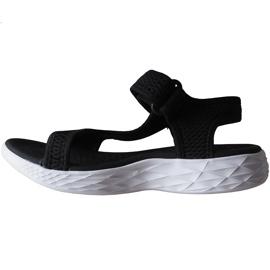 Sandały damskie Kappa Vedity Ii czarno-białe 242811 1110 czarne 2