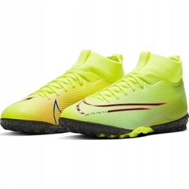 Buty piłkarskie Nike Mercurial Superfly 7 Academy Mds Tf Junior BQ5407 703 żółte wielokolorowe 3