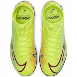 Buty piłkarskie Nike Mercurial Superfly 7 Academy Mds Tf Junior BQ5407 703 żółte wielokolorowe 1